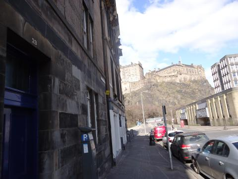Two bedroom property to let, Spittal Street, Grassmarket
