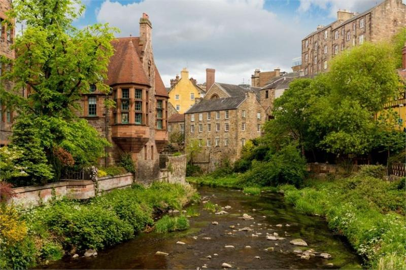 Two bedroom property to let, Dean Path Buildings, Dean Village